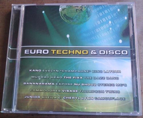 euro techno & disco cd megararo hecho en mexico en 2005 sp0