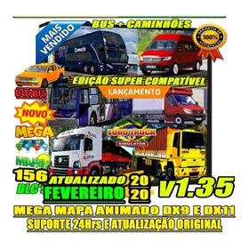 Euro Truck Simulator 2 Brasil 2020 Jogo Original Pc!