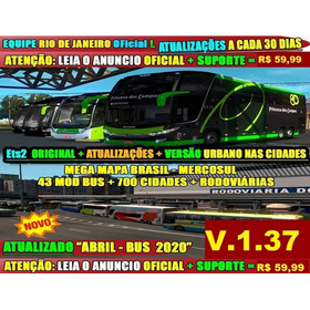 Euro Truck Simulator 2 Brasil 2020 Original Versão 1.37 +top