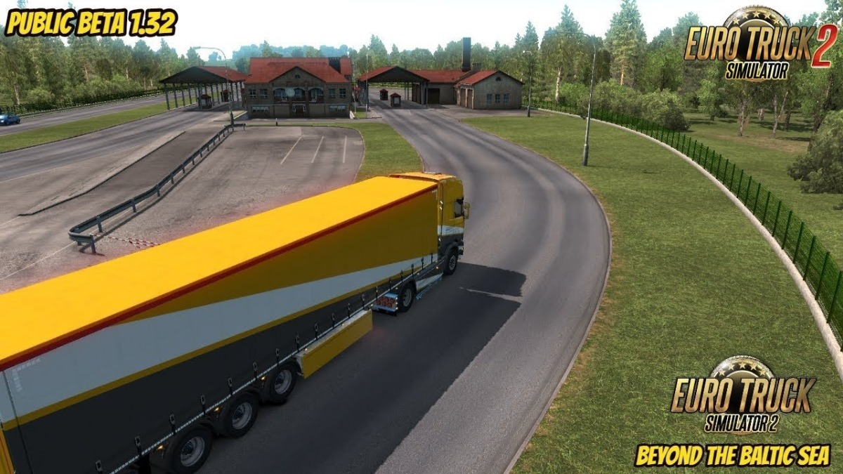 euro truck simulator 2 beyond the baltic sea dlc steam pc. Black Bedroom Furniture Sets. Home Design Ideas