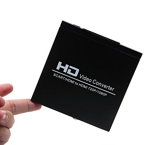 euroconector hdmi a hdmi caja video del convertidor 1080p e