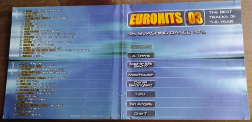 eurohits o3 cd doble tatu ateens neja one t sophie ellis b