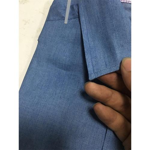 4a9caca934 Europa Tamaño Hombres 's Casual Botón Jeans Camisas - $ 12.204 en ...