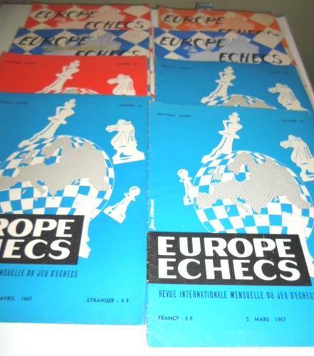 europe echecs x 8