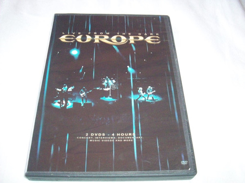 europe live from the dark doble dvd