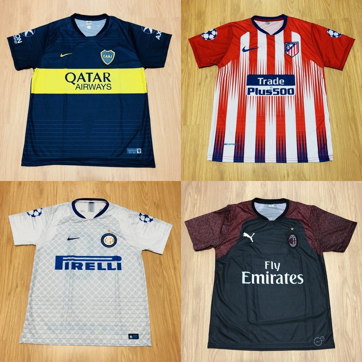 10 Camisetas De Times Nacional Europeu Seleções De Futebol - R  185 ... 37974655b79a8