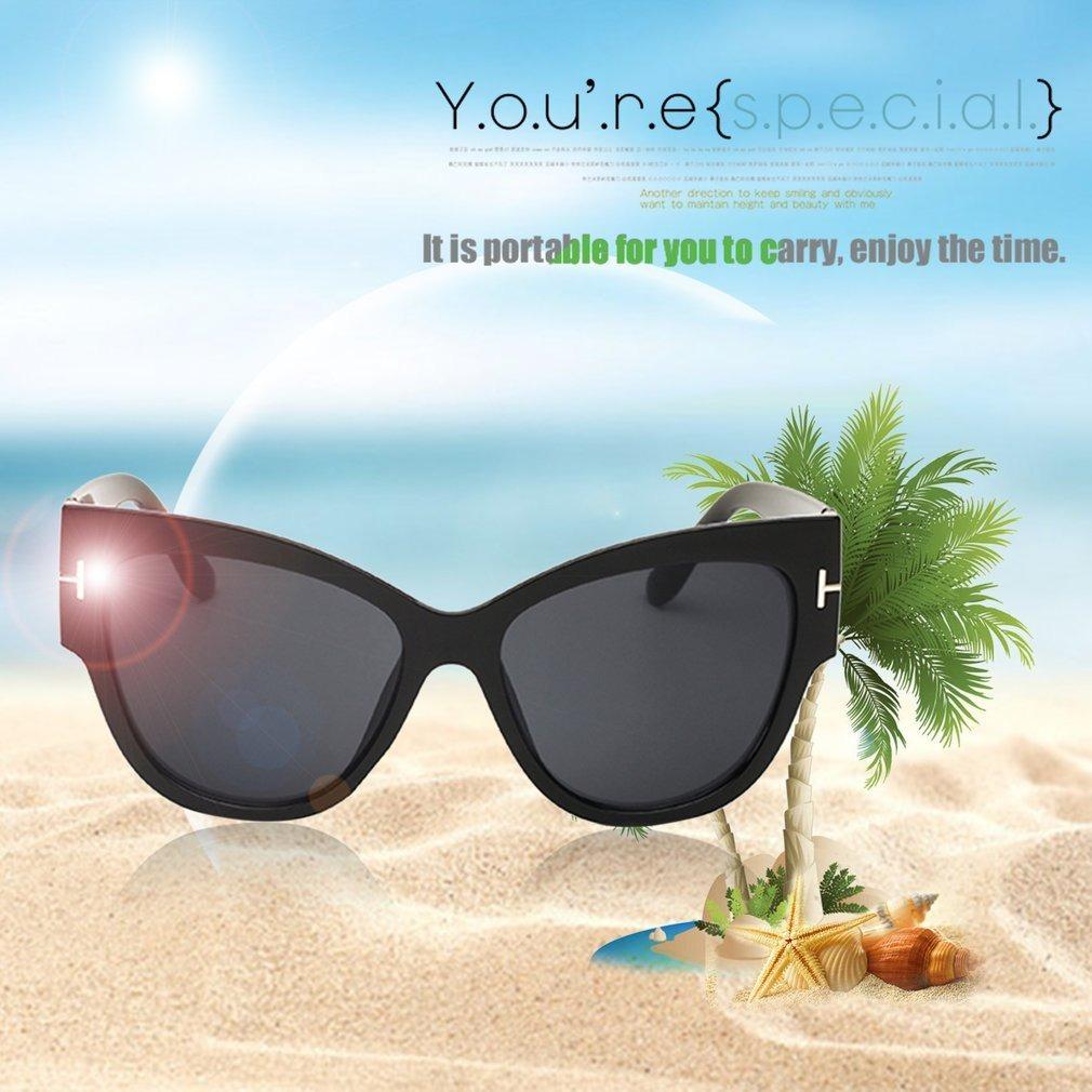 cbdbcc89c europeu moda mulher homem praia óculos de sol único tamanho. Carregando  zoom.