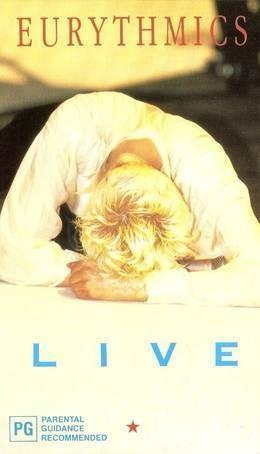 eurythmics live dvd + cd nuevo