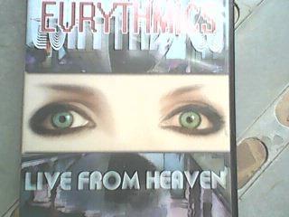 eurythmics live from heaven dvd original