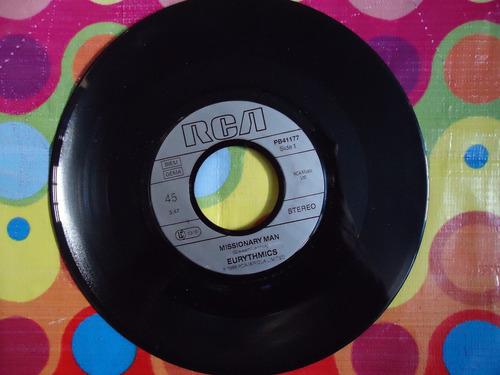 eurythmics lp 45 rpm missionary man 1986