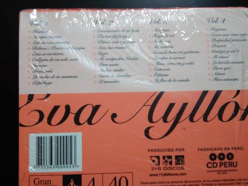 eva ayllón / 4 cd originales / colección