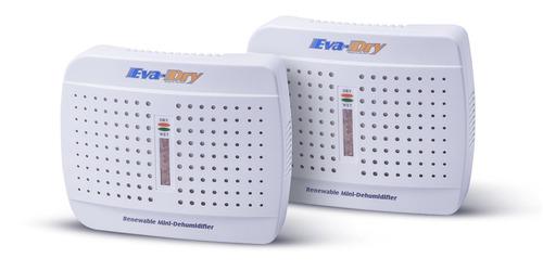 eva-dry e-333 renovables mini deshumidificador 2-pack
