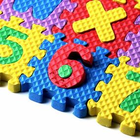 2367d2bdc2f Tapete Alfanumerico Gigante Infantil Em Eva Com 36 Pe As 162 no Mercado  Livre Brasil