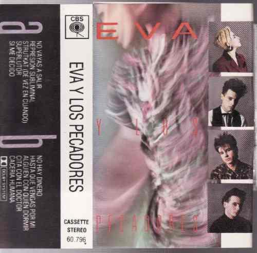 eva y sus pecadores cassette rockandbilly dany vazquez