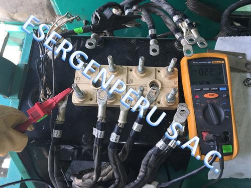 evaluacion y mantenimiento de grupos electrogenos.