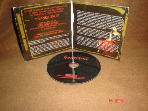evanescence - cd single - call me when you´re sober
