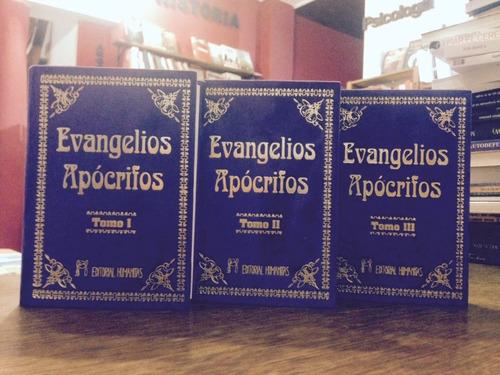 evangelios apócrifos 3 tomos encuadernados - ed. humanitas