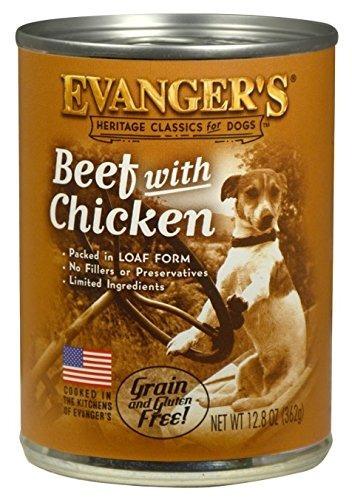 evangers 12pack classic classic beef con suplemento de pollo