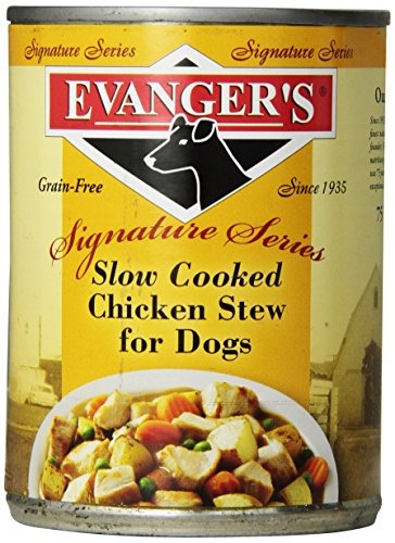 evangers estofado de pollo cocido lento para perros paquete