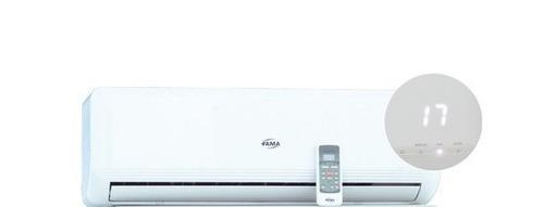 evaporador de aire tipo split marca fama  de 18 y 24.000 btu