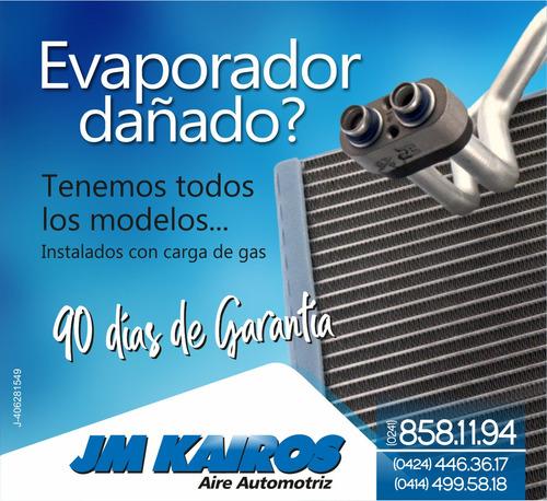 evaporador instalado, evaporadores