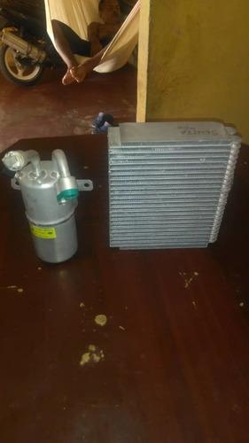 evaporador y filtro completo a/a nissan sentra año 2000/2006