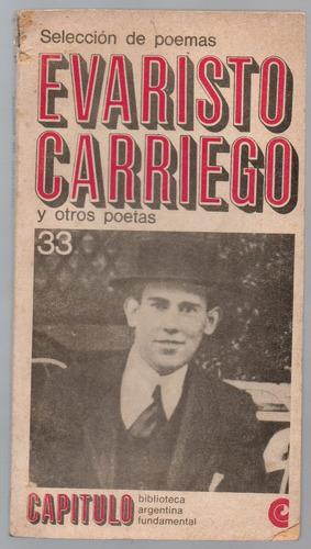 evaristo carriego y otros poetas - selección de poemas