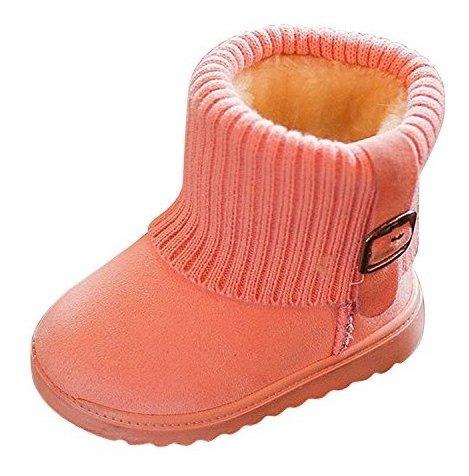 nuevo producto a7c4d 94c7b Evelin Lee - Botas De Nieve Para Niños Y Niñas (2 A 6 Años)