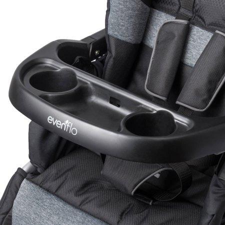 evenflo advanced sensorsafe epic coche + silla portabebe