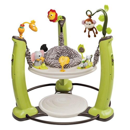 evenflo exersaucer jump & learn  - jungle quest