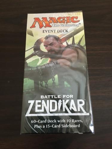 event deck magic the gathering battle for zendikar sellados