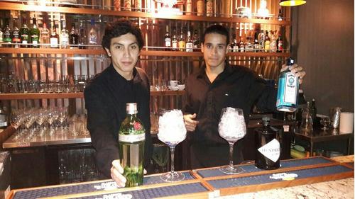 eventos barman y mozos con exp venta de carta para bares