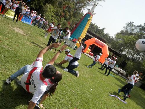 eventos de integración, gymkanas, fiestas y campeonatos