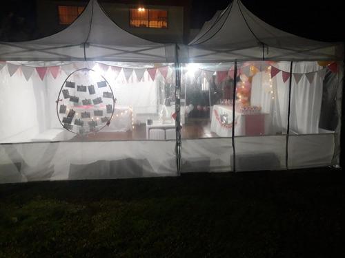 eventos fiestas alquiler gazebos