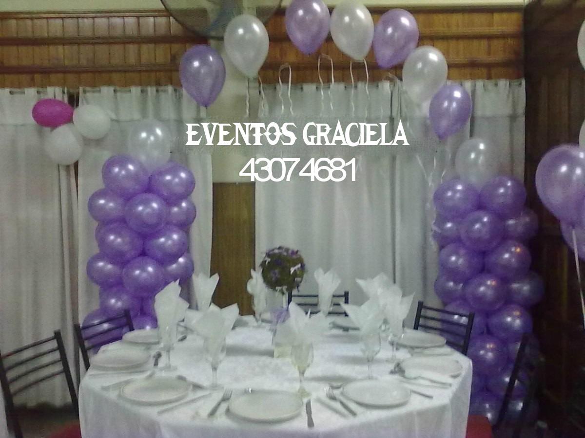 eventos graciela decoramos tu fiesta con telas y globos
