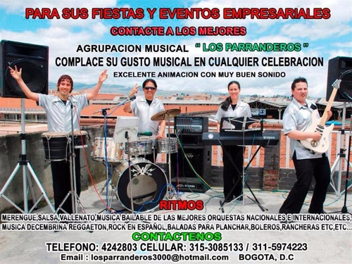 eventos musicos fiestas