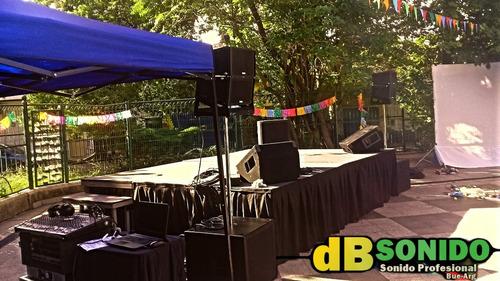 eventos servicio sonido fiestas