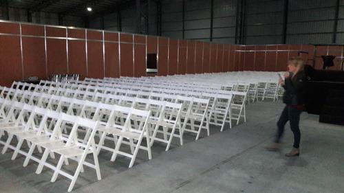 eventos sillas alquiler vajilla