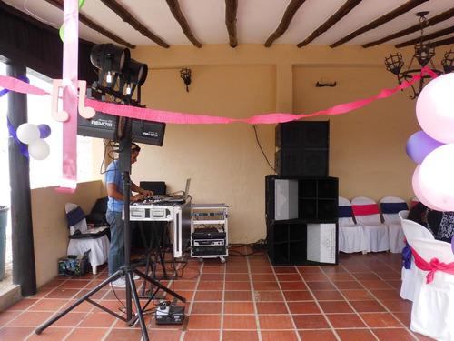 eventos sonido e iluminacion profesional