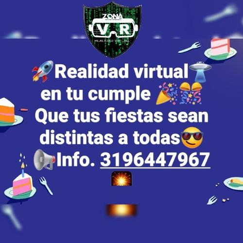 eventos y fiestas en realidad virtual.