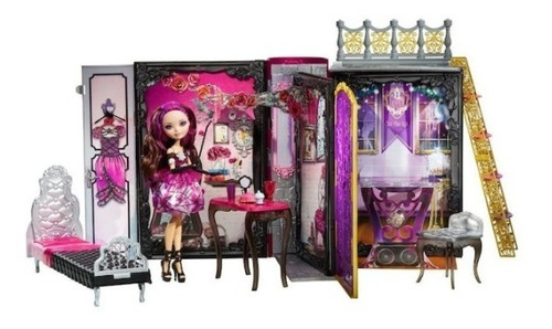 ever after high briar beauty thronecoming libro juego muñeca