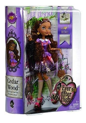 ever after high cedar wood doll