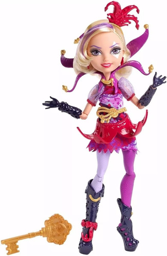 ever after high courtly jester no país das maravilhas mattel