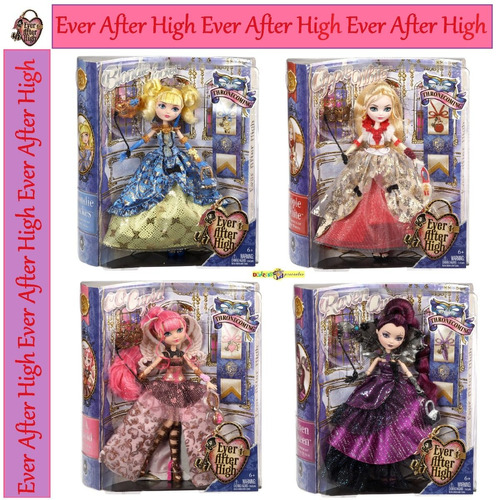 ever after high cupid apple raven blondie thronecoming 2013