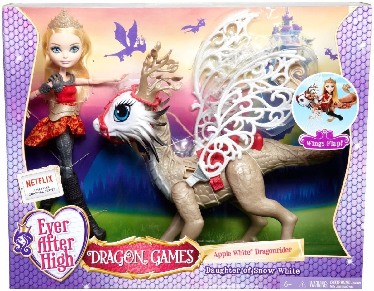 Ever After High Dragon Games Apple White E Braebyrn Dragon
