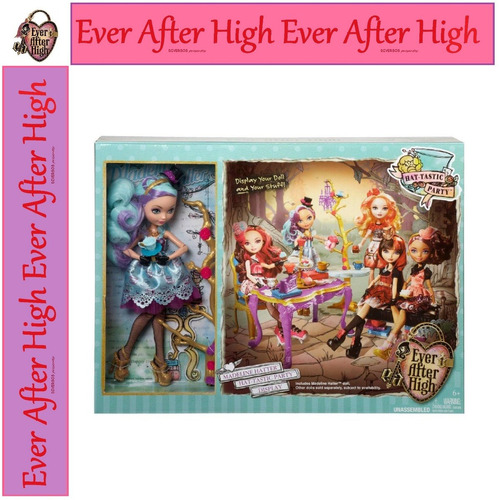 ever after high madeline festa chá hat tastic original 2013