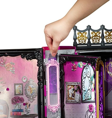 ever after high thronecoming briar beauty muñeca y conjunto