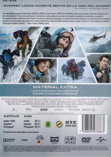 everest 2015 jason clarke , keira knightley pelicula dvd