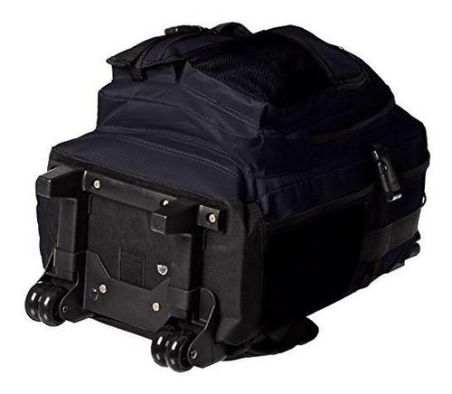 everest deluxe mochila con ruedas marino 5045whny