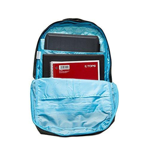 everest trendy mochila de portátil ligero, carbón de leña,